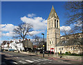 TQ3570 : Holy Trinity Tower, Lennard Road by Des Blenkinsopp