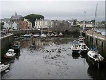 SC2667 : Castletown Harbour by Shaun Ferguson