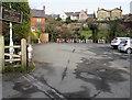 SJ3043 : Kegs in the Bridge End Inn car park, Ruabon by Jaggery