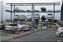 SX5053 : Multi-storey boat park by N Chadwick