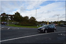 SX5053 : Roundabout, Billacombe Rd, A379 by N Chadwick