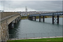 SX5054 : Laira Bridges by N Chadwick