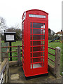 TM2166 : Telephone Box off Southolt Road by Adrian Cable