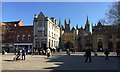 TL1998 : Cathedral Square, Peterborough, looking east by Robin Stott