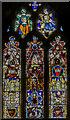 SE8904 : East window, Holy Trinity church, Messingham by Julian P Guffogg