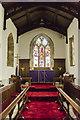 SE8904 : Chancel, Holy Trinity church, Messingham by Julian P Guffogg