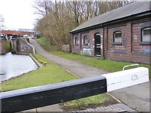 SO9186 : Lock No3 View by Gordon Griffiths