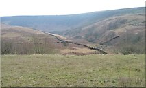 SK0697 : The valley of Torside Clough, Longdendale by Christine Johnstone