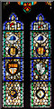 SE8904 : Stained glass window n.IX, Holy Trinity church, Messingham by Julian P Guffogg