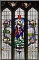 SE8904 : Stained glass window s.VII, Holy Trinity church, Messingham by Julian P Guffogg