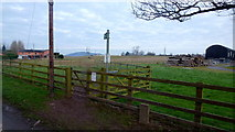 SO4841 : Footpath from Huntington to the Roman Road by Jonathan Billinger