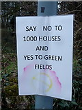 SO4841 : Say No To 1000 Houses by Jonathan Billinger