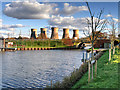 SK3029 : Trent and Mersey Canal, Mercia Marina, Willington by David Dixon