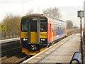 SK8361 : Collingham railway station  by Graham Hogg