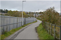 SX5054 : National Cycle Route 27 by N Chadwick