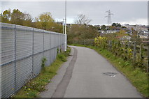 SX4954 : National Cycle Route 27 by N Chadwick