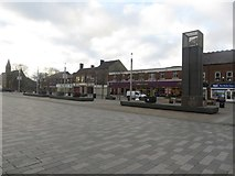 NZ3181 : Blyth Market Place by Graham Robson