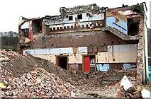 SH5639 : Porthmadog Coliseum reduced to rubble by Arthur C Harris