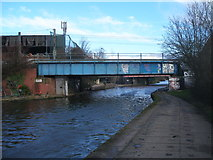 TQ2282 : Canal bridge 7d at Old Oak Common by John Slater