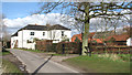 TG3708 : White House Farm in South Burlingham by Evelyn Simak