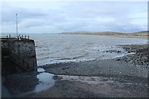 NX3343 : Harbour Entrance, Port William by Billy McCrorie