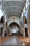 TL7006 : The Nave of Chelmsford Cathedral, Essex by Derek Voller