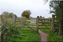 SU3268 : Entering Freeman's Marsh by N Chadwick