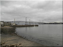 NT1378 : The shore at South Queensferry by Douglas Nelson