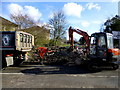 H4772 : Work along Riverview Road, Omagh by Kenneth  Allen