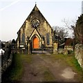 SJ3043 : East side of Ruabon Congregational Church, Ruabon by Jaggery