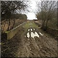 SP9762 : Forty Foot Lane Railway Bridge by Dave Thompson
