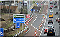 J2966 : New M1 service area, Dunmurry/Lisburn - March 2016(2) by Albert Bridge