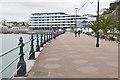 SX9163 : The esplanade, Torquay by Alan Hunt