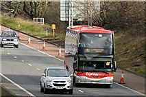 J2966 : Bus Eireann Dublin Express, M1, Ballyskeagh (March 2016) by Albert Bridge