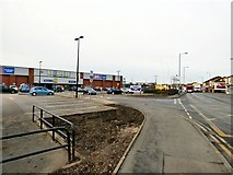 SJ9495 : Manchester Road Retail Park by Gerald England
