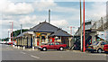 TL1960 : St Neots station, entrance on Down side, ECML 1992 by Ben Brooksbank
