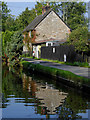 SJ3135 : Canalside cottage near St Martin's Moor, Shropshire by Roger  Kidd