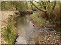 SE2131 : Steep stream bank by Stephen Craven