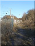 SS8280 : Public footpath east of South Cornelly (2) by eswales