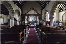 SK8354 : Interior, All Saints' church, Coddington by J.Hannan-Briggs
