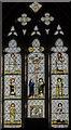 SK8354 : East window, All Saints' church, Coddington by Julian P Guffogg