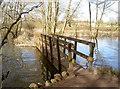 ST5860 : Across the Hollow Brook by Neil Owen
