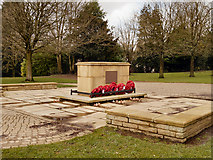 SD6312 : War Memorial and Garden of Remembrance by David Dixon
