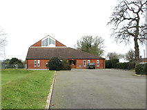 TG1507 : The village hall at Little Melton by Evelyn Simak