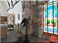 SH7850 : Eagle lectern at St Tudclud's by Gerald England