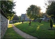 ST6601 : Cerne Abbas burial ground by Alan Corby