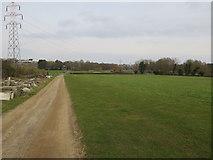 TG1807 : Grassland by UEA by Hugh Venables