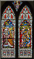 SK8251 : Ruth Stained glass window, St Giles' church, Balderton by Julian P Guffogg