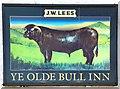 SH7669 : Ye Olde Bull Inn sign (1) by Gerald England