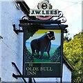 SH7669 : Ye Olde Bull Inn sign (2) by Gerald England